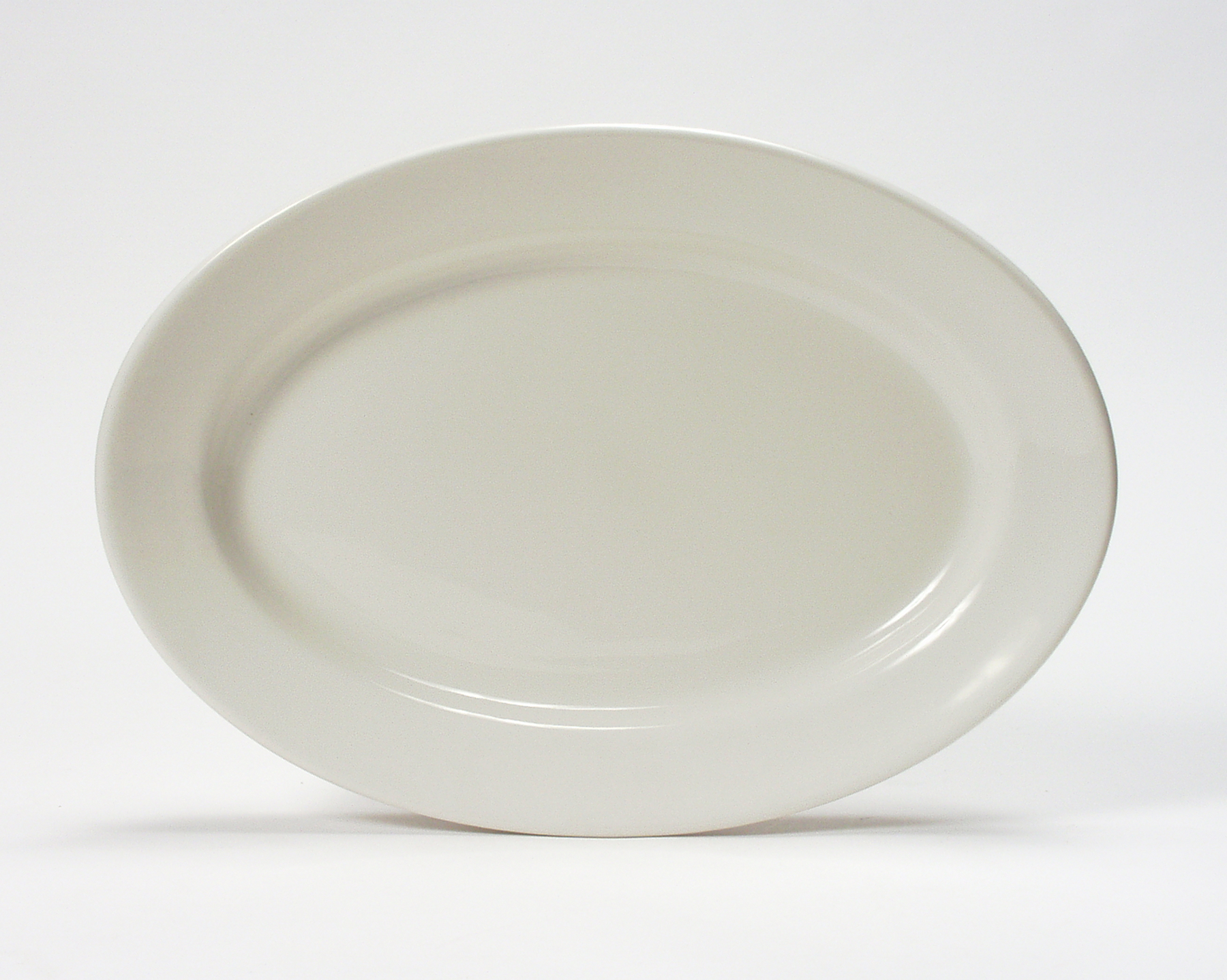 Item No TRE-043. Desc Oval Platter Size 14 1/8  X 10 1/4  Case Qty 12. List price/case $ 300.96. Our price/case $ 112.86 & Reno Dinnerware for Restaurants Catering and Banquet Service